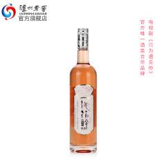 【酒厂直营】12度桃花醉果酒2018版(红)500ml 泸州老酒官方旗舰店