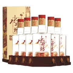 52°水井坊臻酿八号白酒礼盒装浓香型500ml*6