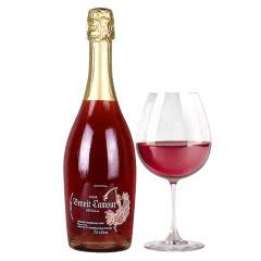 西班牙进口葡萄酒 6.5度博诺拉姆塞威亚半干型桃红起泡酒 葡萄酒 单瓶750ml