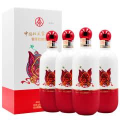 53°五粮液中国收藏家协会酱香收藏酒猪年大吉500ml*4(2019年)