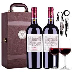路易拉菲公爵古堡干红葡萄酒750ml(2瓶皮箱礼盒装)
