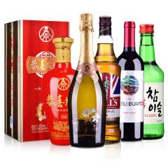 全球大产区:(中国白酒、苏格兰威士忌、欧洲起泡、澳洲红酒、)