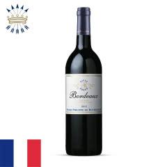 法国菲利普罗思柴尔德波尔多红葡萄酒750ml