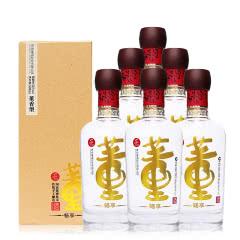 董酒畅享54度500ml 6瓶百草入曲纯粮固态酿造高度白酒整箱装
