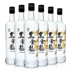 金门高粱酒黑金龙46度纯粮食固态发酵白酒 黑金龙560ml(整箱6瓶装)