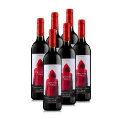 西班牙小红帽干红葡萄酒750ml 6支装