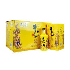 42°牛栏山二锅头 小黄龙 百年特酿15年 浓香型白酒 500ml *6瓶装 整箱