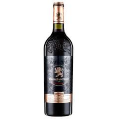 法国原瓶原装进口红酒玛歌庄园法法妮亚干红葡萄酒波尔多产区AOC级干红葡萄酒雕花款750ml