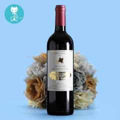 【蕰妮】红酒法国原装进口拿破仑骑士城堡干红葡萄酒酒庄酒(单瓶)