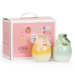 小森林米酒礼盒柚子酒青梅酒组合500mlx2瓶梅子酒果酒低度女士酒