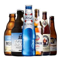 比利时德国啤酒  白熊1664 小麦白啤组合6瓶