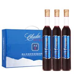 楚道冰红葡萄酒甜型10度375ml(整箱3瓶装)