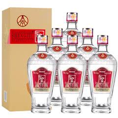 52°五粮液股份公司聖酒柔和浓香型白酒整箱装500ml*6