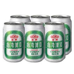 (6罐装)特价8月14号到期 台湾原装金牌精酿啤酒330ml