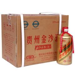 53°贵州金沙回沙品鉴酒 金色瓶500ml(6瓶装)