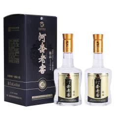 45°河套老窖精品500ml*2浓香型白酒