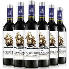 龙船德特斯家族1988梅洛赤霞珠优选干红葡萄酒750mL(6支装)
