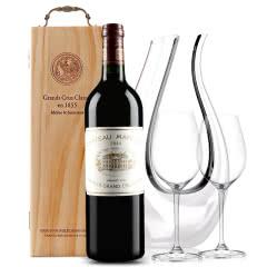 玛歌古堡干红葡萄酒 法国原瓶进口 1855列级庄 一级庄 玛歌正牌 2014年 750ml