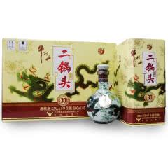 牛栏山北京二锅头 53度青龙珍品三十(30)清香型白酒500ml *6瓶 整箱装