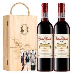 拉蒙 布兰特酒庄 波尔多AOC级 法国原瓶进口 干红葡萄酒 750ml*2双支装