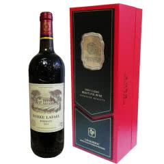 伯克拉斐典雅红盒法国原酒进口干红葡萄酒(单瓶装750ml*1瓶)