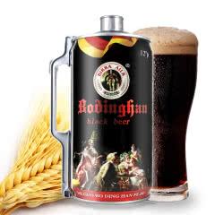 德国风味黑啤酒 黑啤 精酿醇香 焦香浓郁 啤酒2L/罐 2升装黑啤 大桶啤酒
