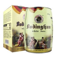 德国风味啤酒 5L桶装白啤 礼盒装 麦香原浆精酿啤酒 5000ml畅饮桶