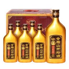 绍兴黄酒会稽山开坛酒金八年500*6整箱加饭酒花雕酒半干低糖老酒