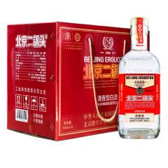 50°方庄隆兴号北京二锅头清香型白酒500ml*6支(整箱6瓶)