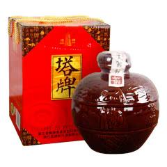 绍兴黄酒塔牌元红黄酒2.5L坛装礼盒低糖干型原酒手工冬酿糯米黄酒