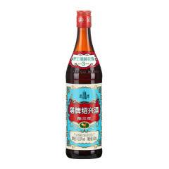 【品牌直营】塔牌出口蓝牌三年陈花雕酒600ml单瓶 手工冬酿糯米黄酒