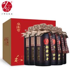 53°少卿秘藏四年 酱香型白酒 贵州茅台镇 纯粮食高粱酒 白酒整箱500ml*6瓶