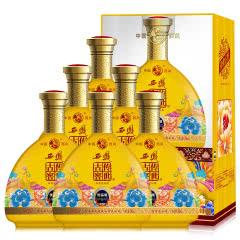 52°西凤 婚宴结婚 黄瓶 特价白酒 送礼白酒 传世古窖 (优品级 )整箱6瓶