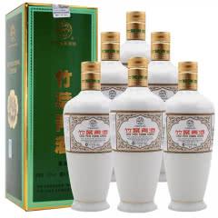 融汇陈年老酒 45°牧童盒装瓷瓶竹叶青酒500ml(6瓶装)2012年