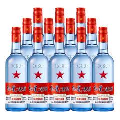 红星二锅头 正品保证 53度蓝瓶绵柔8 500ml*12瓶装