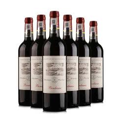 拉菲尚品波尔多红葡萄酒750ml 6支装