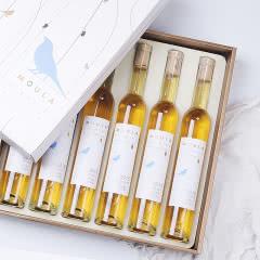 慕拉冰酒白葡萄酒甜白红酒礼盒非香槟莫斯卡托雷司令混酿非进口女士果酒375ml*6