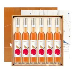 慕拉MOULA 红酒山楂冰酒自酿果酒葡萄酒老山楂酒女士低度甜酒整箱375ml*6支装