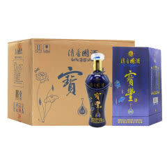 河南白酒  宝丰酒 宝丰清香國酒G9酒52度清香型白酒500ml 6瓶整箱