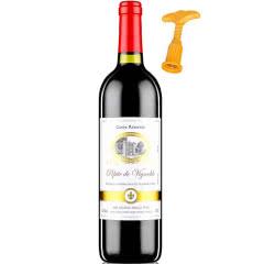 法国(原瓶)进口红酒 12度橡木桶陈酿干红葡萄酒750ml