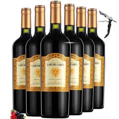 法国原瓶原装进口红酒 AOC级波尔多法定产区14度干红葡萄酒整箱750ml*6瓶
