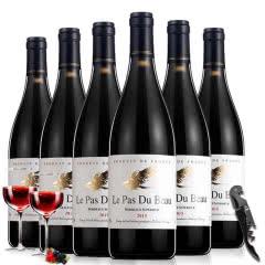 法国原瓶原装波尔多进口红酒 AOC级赤霞珠干红葡萄酒整箱750ml*6支