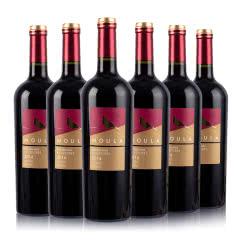 慕拉赤霞珠干红葡萄酒750ml*6梅洛红酒整箱干红