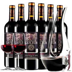 拉斐庄园2008特选干红葡萄酒原酒进口红酒整箱醒酒器装750ml*6