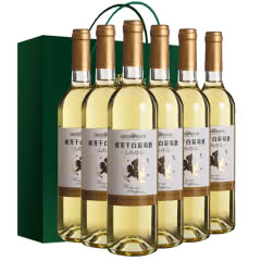 威龙上尚珍品干白葡萄酒整箱750ml*6
