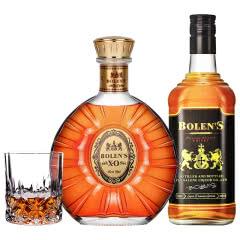 40°波朗圣XO白兰地 500ml+波朗圣威士忌 700ml 组合套装