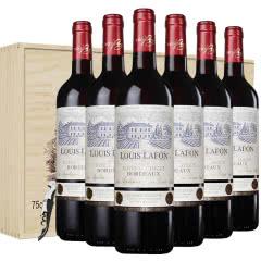 路易拉菲红酒典藏波尔多干红葡萄酒法国原瓶原装进口红酒送礼木盒装
