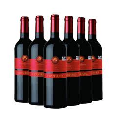 澳大利亚原瓶进口 凯富酒庄 吉卡斯 红衣公主干红葡萄酒750ml(6瓶装)