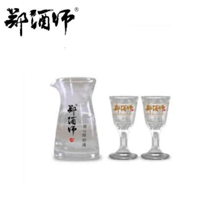 郑酒师精美酒具 酱香型白酒杯一口杯 (分酒器*1+杯子*6)七件套