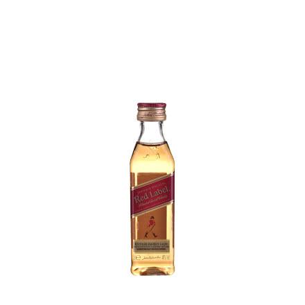 40°英国尊尼获加红方威士忌50ml